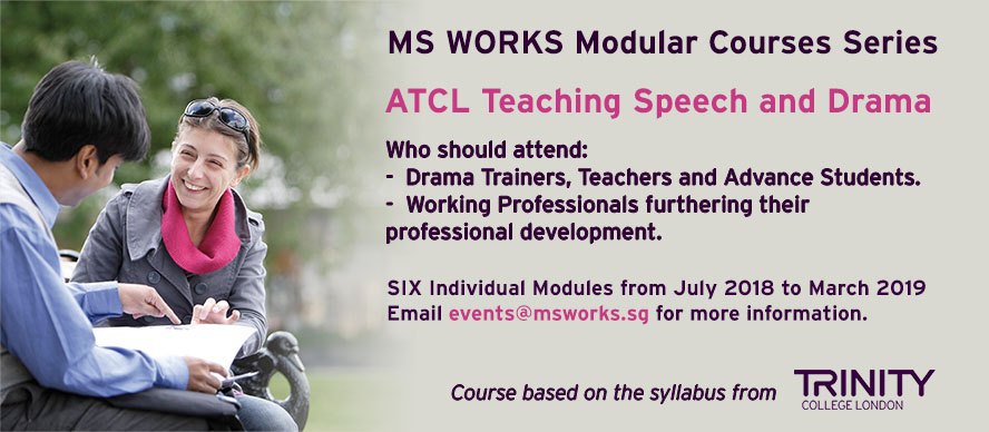 ATCL Teaching Speech & Drama 2018 - MS WORKS