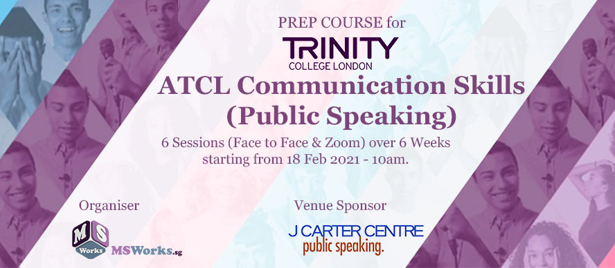 ATCL Public Speaking Course
